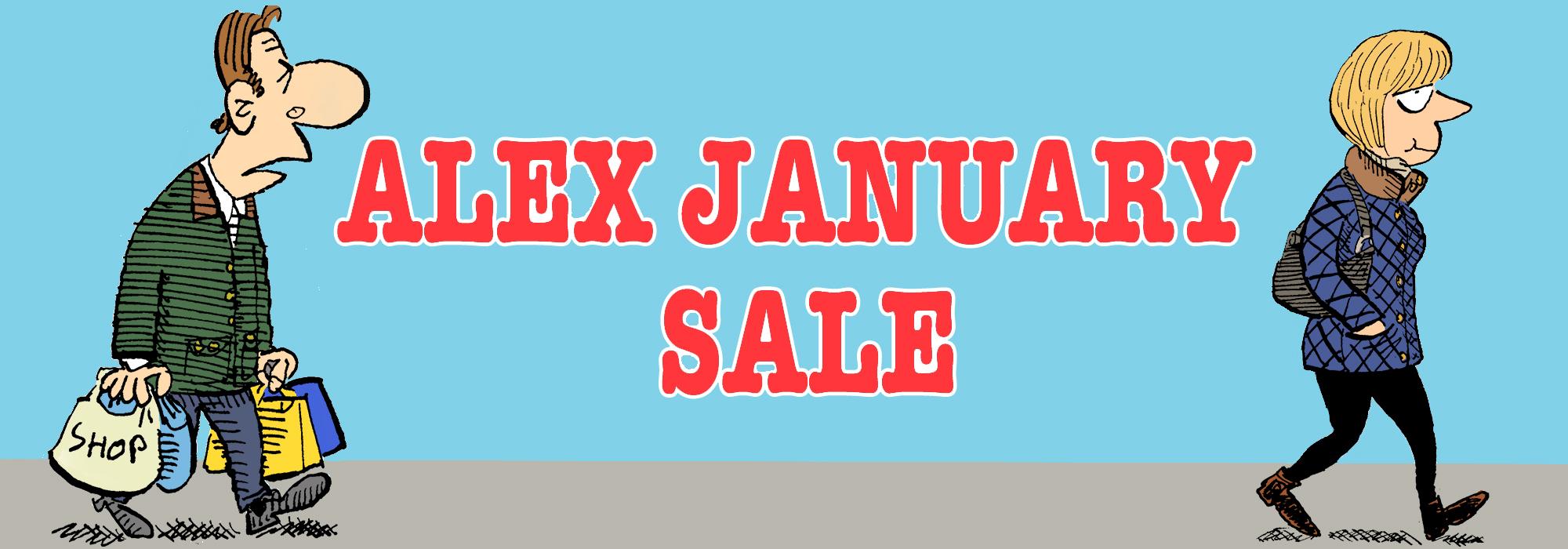 Alex January Sale