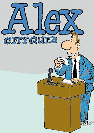 Alex City Quiz