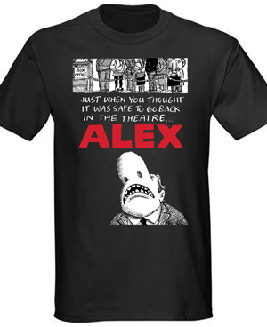 Alex Black T-shirt